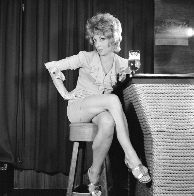 Actrice Carry Tefsen in Combi Studio als prostitué Beeld Hollandse Hoogte / Nederlands Fotomuseum
