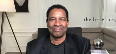 Denzel Washington moet tranen verbijten na boodschap van zoon: 'Ik ben sprakeloos'