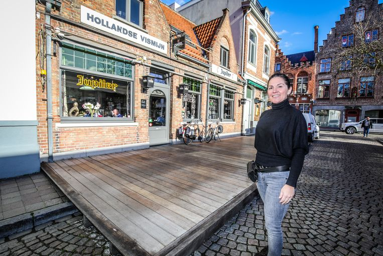 Terras Hollandse Vismijn: Mireille Ketels