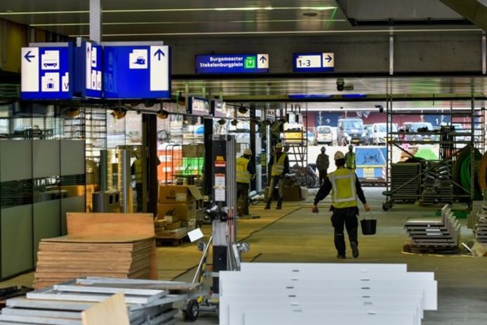 De nieuwe passage gaat vrijdag open. Foto Jeroen de Jong/BeeldWerkt