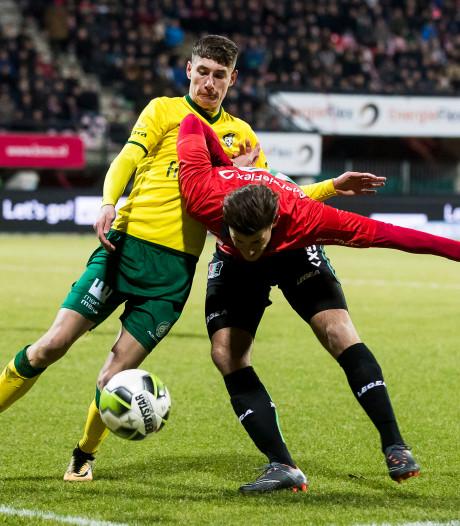 NEC krijgt Fortuna Sittard er niet onder in Goffert: 1-1