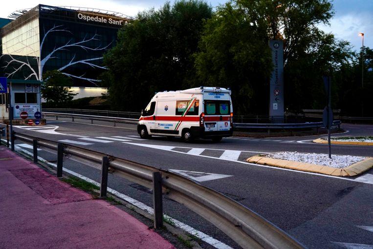 Het ziekenhuis van Como.