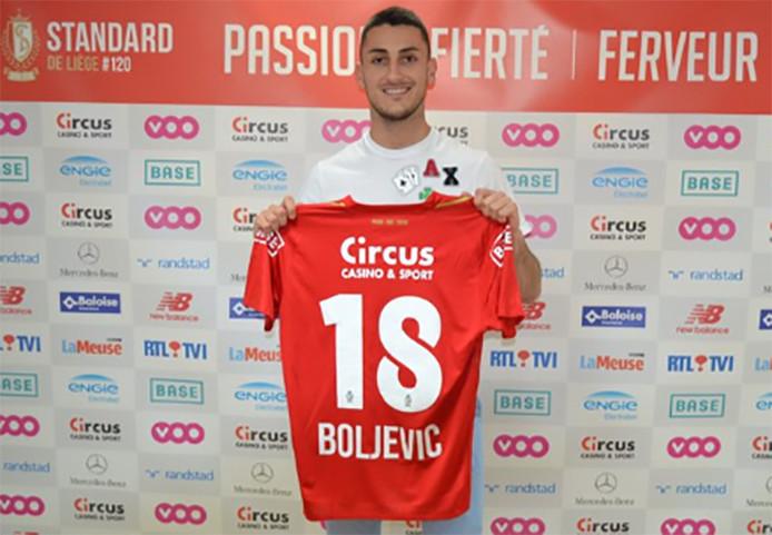 Le Standard poursuit son mercato. Aleksandar Boljevic débarque à Sclessin après trois saisons passées à Waasland-Beveren.