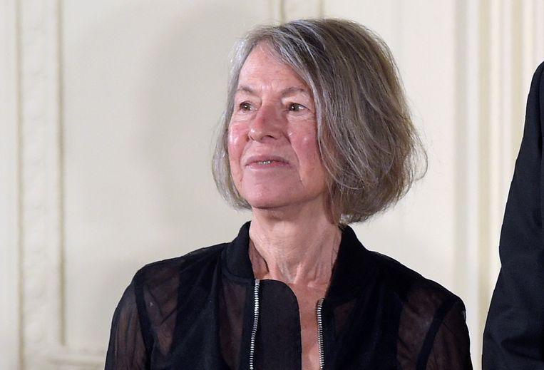 Louise Glück . Beeld AP