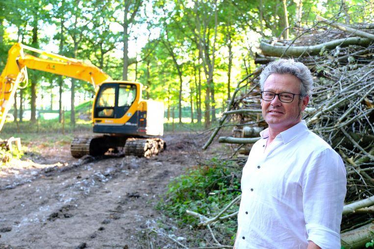 Burgemeester Kris Leaerts liet de bomenkap prompt stilleggen toen hij hoorde van de plannen.