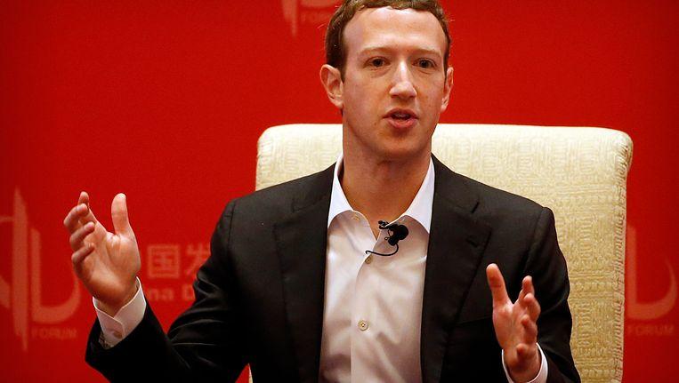 Facebook-topman Mark Zuckerberg. Beeld ap