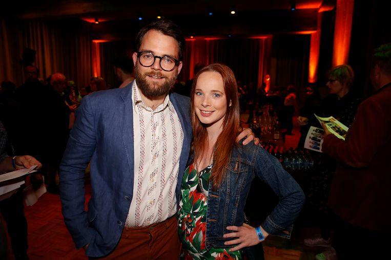Daphne met haar partner, acteur en theatermaker Randall Van Duytekom.