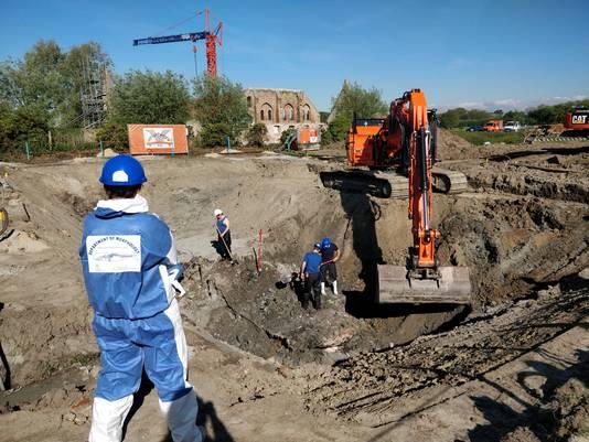 Travaux d'excavation, ce 13 mai 2019