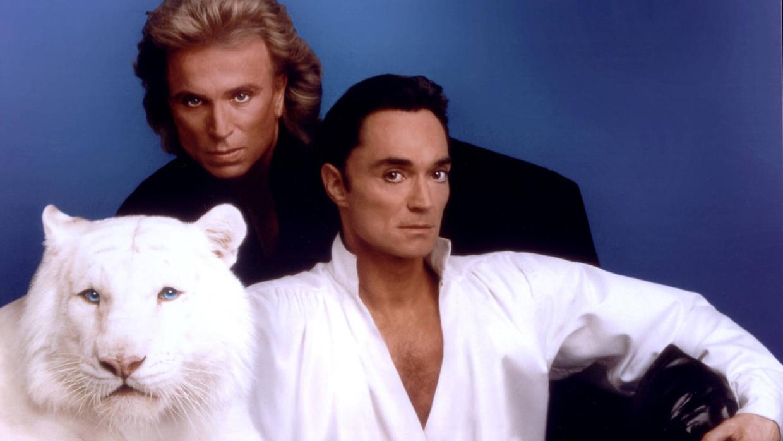 Siegfried (links) & Roy (rechts) in hun hoogtijdagen.