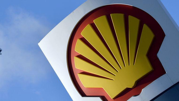 Het logo van Shell, foto ter illustratie
