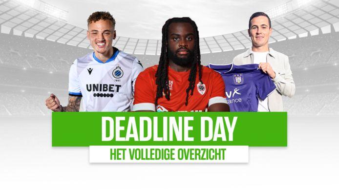 Noa Lang voor Club, Jordan Lukaku voor Antwerp en Josh Cullen voor Anderlecht: drie transfers op Deadline Day.