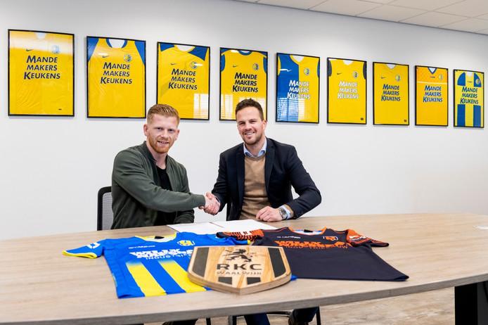 Van der Venne tekent tot 2022 bij RKC