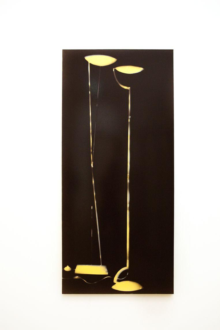 Zwei Lampen (1994). Beeld Io Cooman