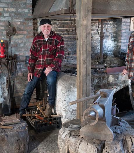 Opening smederij na grote restauratie in Ven-Zelderheide