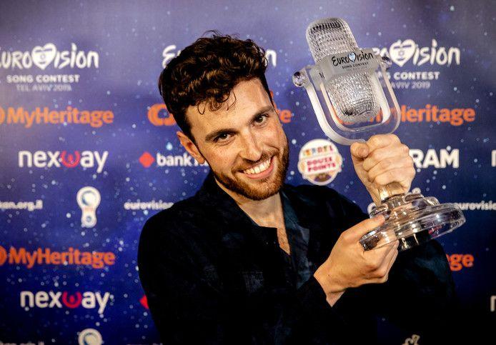 Duncan Laurence won dit jaar het Eurovisie Songfestival.
