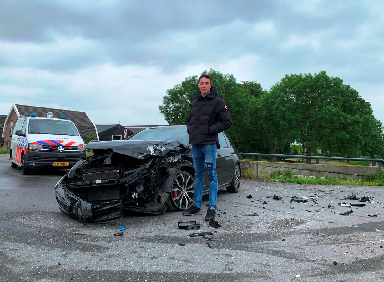 Mart (18) 'verkocht' zijn auto aan een dief en kreeg 'm zo terug.