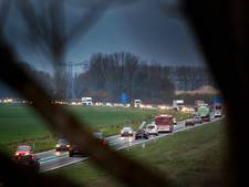 Botsing met drie auto's op A58: weg weer vrij