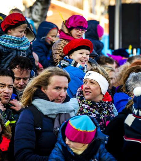 Kinderfeest en protesten: de intocht van de Sint in beeld