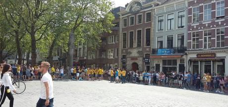 LIVE: Grote Markt in Breda stroomt vol voor huldiging NAC