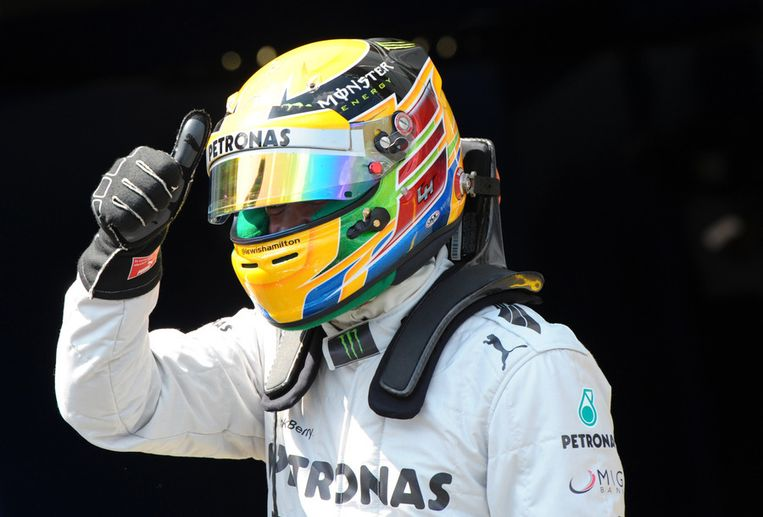 Lewis Hamilton. Beeld afp