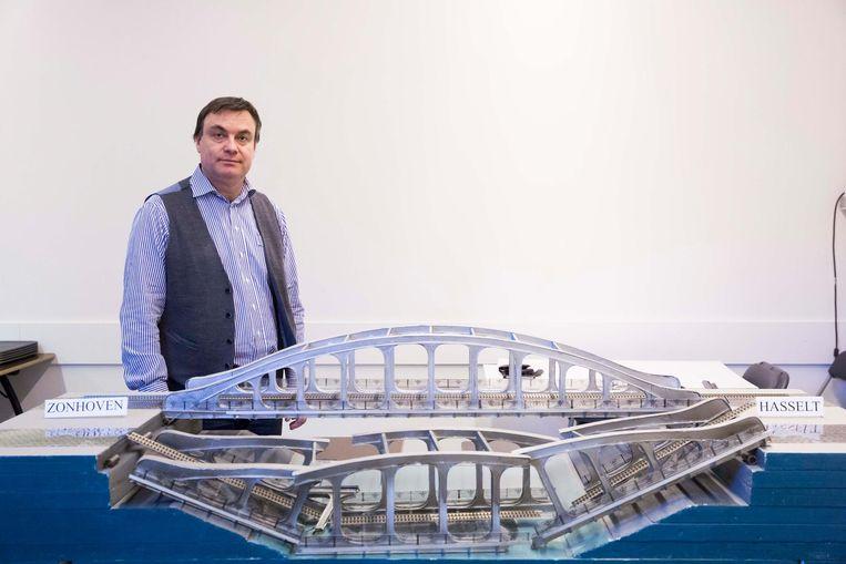 Ingenieur Sven Curé nam het initiatief voor een expo over de ramp, die liep van 3 maart tot 1 juli in Het Stadsmus in Hasselt.