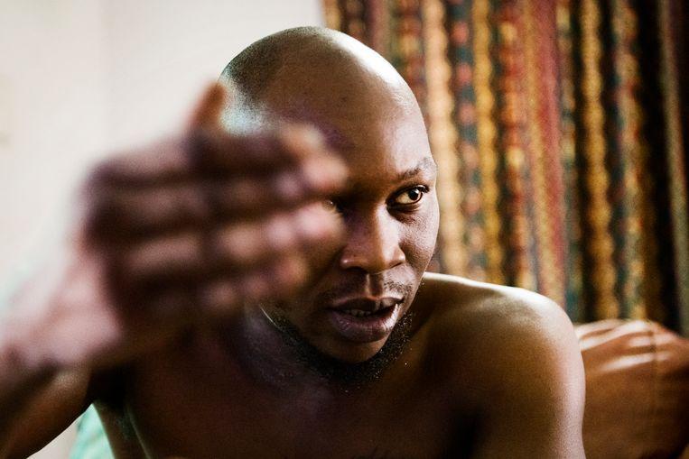 Seun Kuti, zoon van Fela Kuti. Beeld Sanne De Wilde