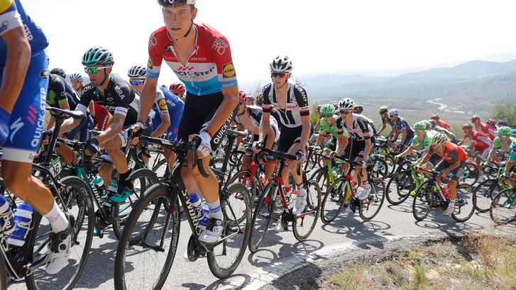 Bekijk hier de samenvatting van de vijfde etappe van de Vuelta