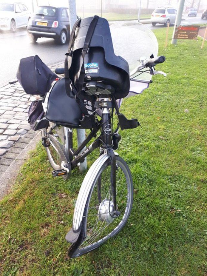 Foto ter illustratie, dit is niet de bewuste fiets