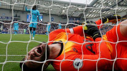 Spurs lopen lichamelijke én sportieve averij op: blunderende Lloris met wrede armblessure, Brighton hakt hen in de pan