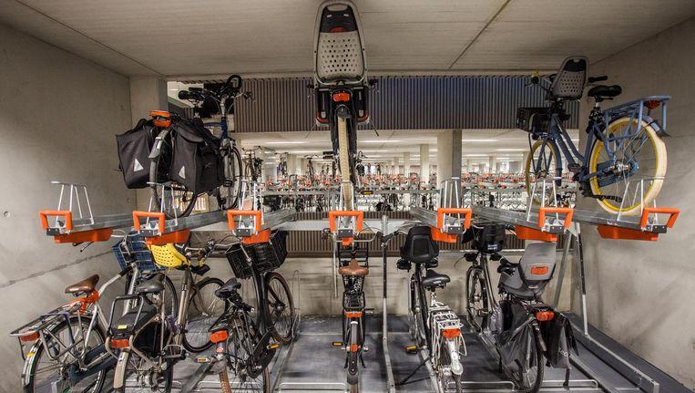 Vanaf 1 juli wordt het stallen van fietsen bovengronds helemaal verboden. Beeld anp