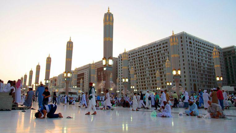 De Moskee van de Profeet in Medina. Beeld AFP