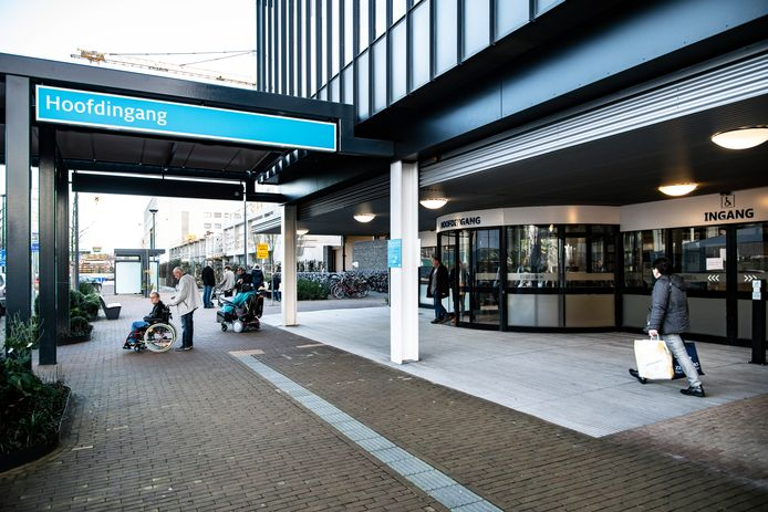De ingang van het Radboudumc in Nijmegen.