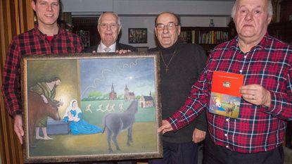 Pastoor Helsen krijgt nieuw Sint-Gummarusschilderij
