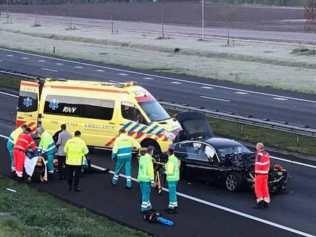 A50 in beide richtingen dicht door ongevallen bij Nistelrode en Uden
