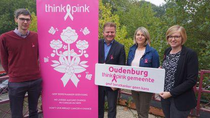 Oudenburg wordt Think-Pink-gemeente en strijdt mee tegen borstkanker