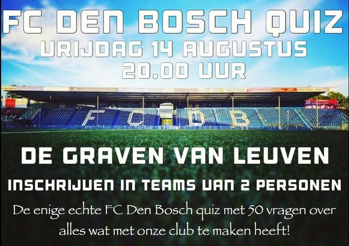 FC Den Bosch-quiz.