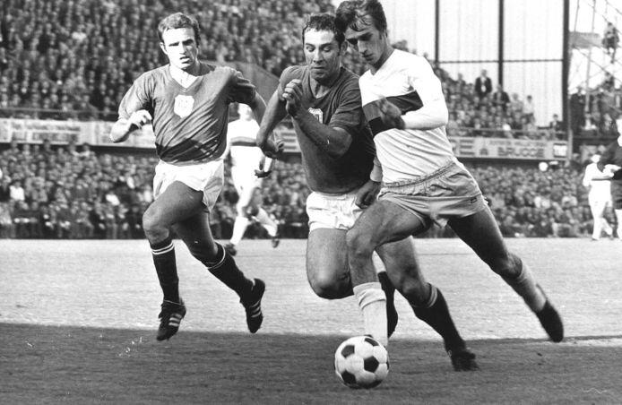 1970: Rob Rensenbrink als speler van Club Brugge.