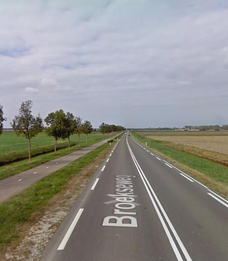 Wegomleidingen Thoolse N658 voor nieuw asfalt