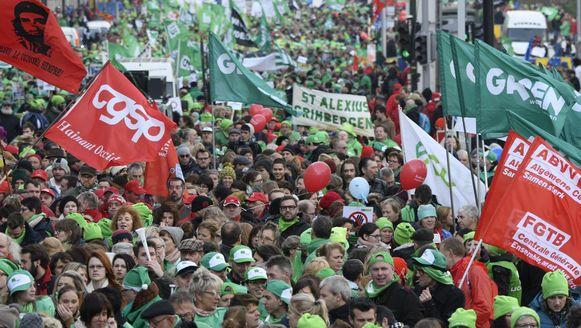 Op 24 november bracht de betoging een kleine 20.000 man op straat.