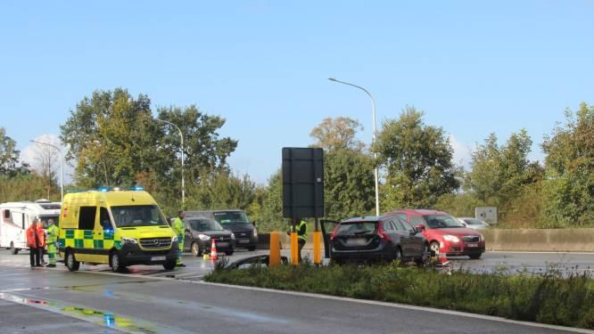 File door verschillende ongevallen op E40 in Erpe-Mere