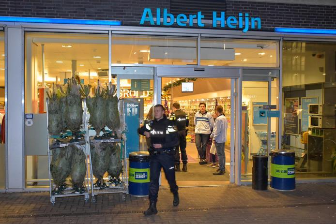 Overval op Albert Heijn in Tilburg