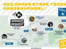 Via Vlinderboek en zwaard naar groot festijn op De Wal: dit is de route van Serious Request door Oss