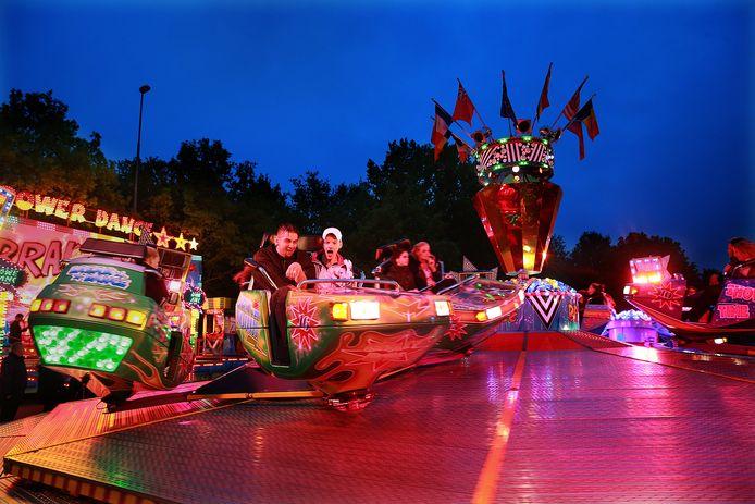 De gemeente Doetinchem bekijkt of in het centrum van de stad in september toch een kermis gehouden kan worden. Archieffoto Theo Kock