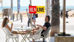 """LIVE. """"Belgische begroting stevent af op tekort van 46 miljard euro"""" - Terrassen open in Madrid en Barcelona"""