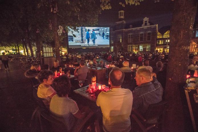 Nacht van het Witte Doek op de Markt in Deurne (archieffoto).