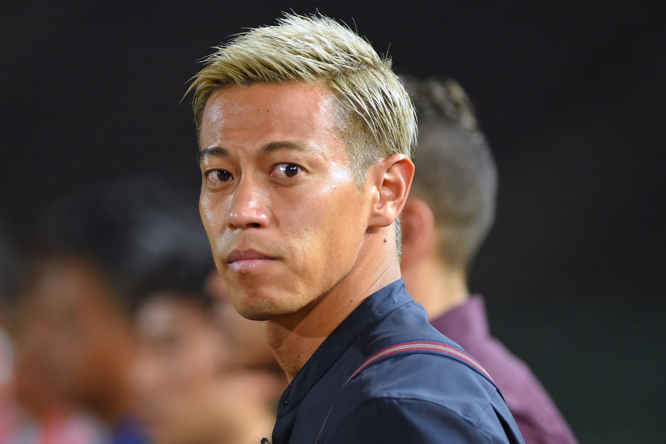 Keisuke Honda  traint mee bij Vitesse.  De Japanner sluit een rentree in de eredivisie niet uit.