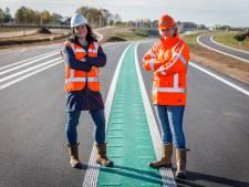 Veilig honderd rijden op nieuwe N34 bij Hardenberg