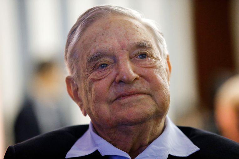 George Soros op een foto van mei van dit jaar. Beeld AP