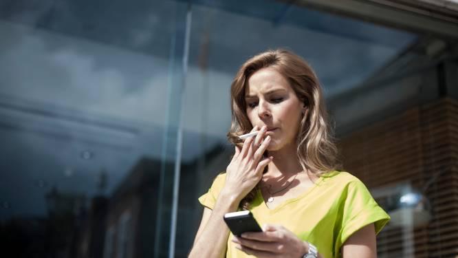 Meer dan kwart van werknemers rookt en het zijn vooral jongeren