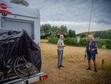 Camper wint terrein in het Land van Maas & Waal